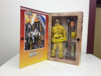 "2000 21st Century Toys 1/6 Scale 12"" America's Finest Fireman Action Figure #23001"